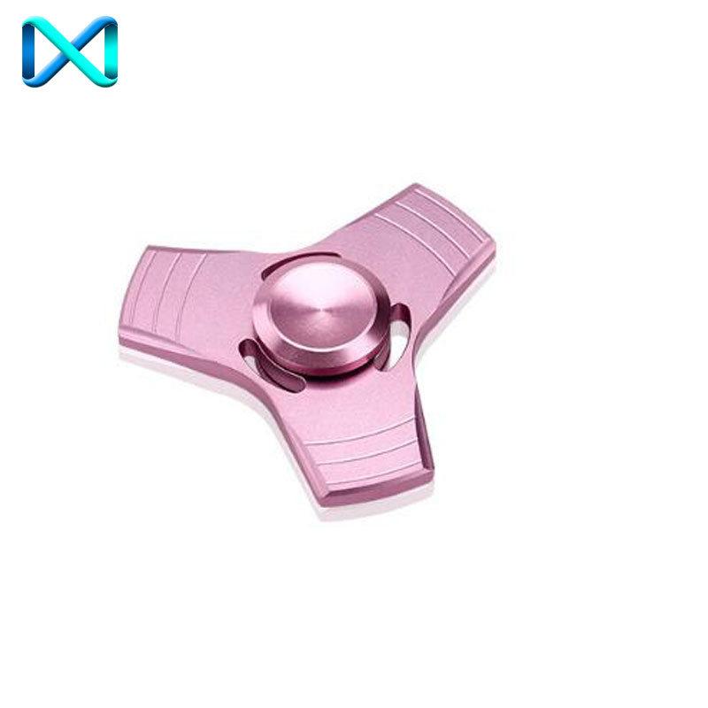 Aluminum Tri Fidget Ceramic Bearing Desk Focus Toy EDC Finger Hand Spinner