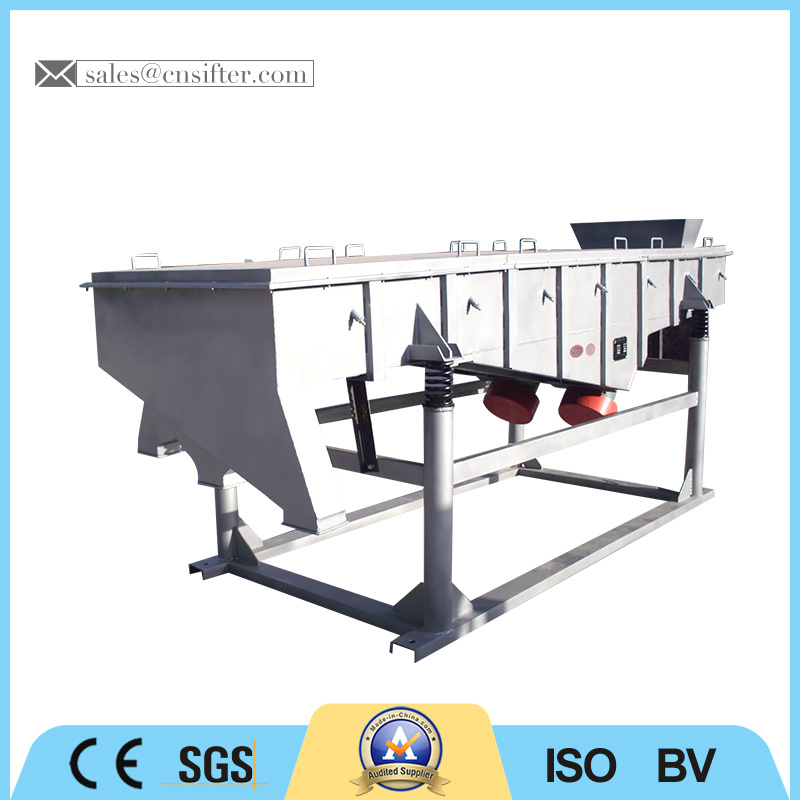 Multi-Layer Carbon Steel China Linear Vibrating Screen