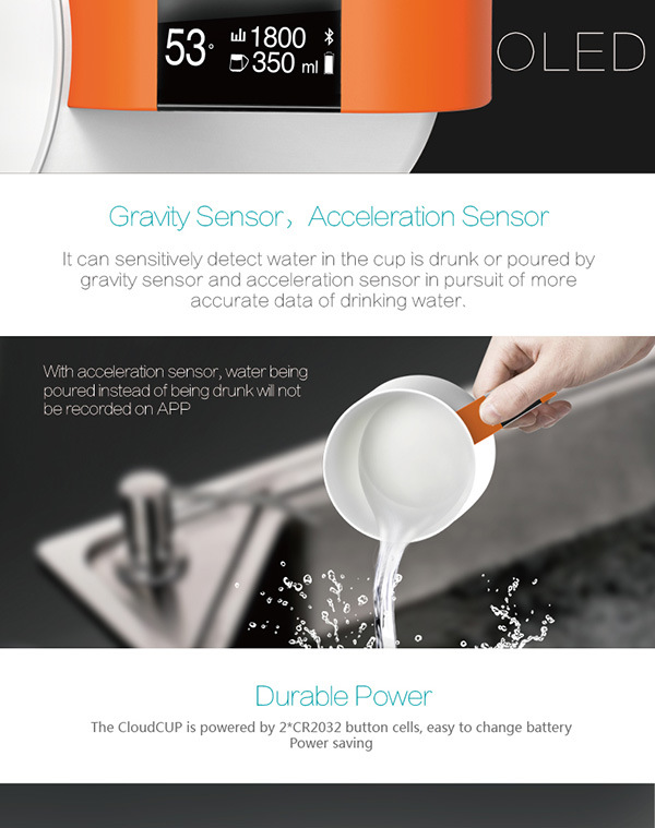 Smart Water Mug with Drinking Reminer