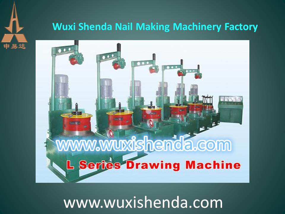 High Speed Low Noise Automatic L Series Dry Type Wire Drawing Machine (LW-1-6/560)