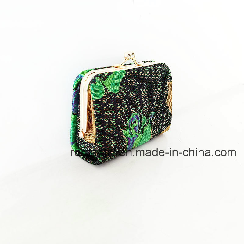 Fashion New Model Lady Embroidery Fabric Wallet (NMDK-061404)