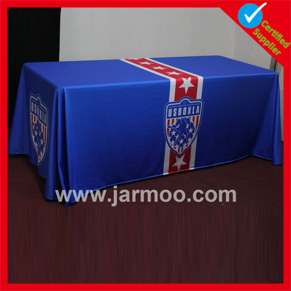 Durable Advertising Polyester Table Cloth with Printing