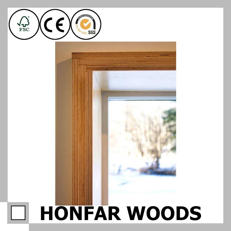 Building Material Primed Wood Door Frame Door Jamb