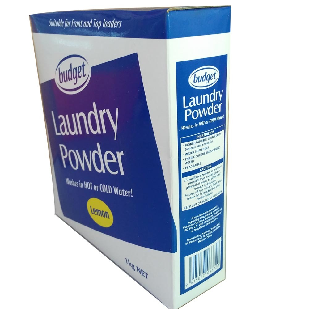 Detergent Laundry Powder in 1kg Carton