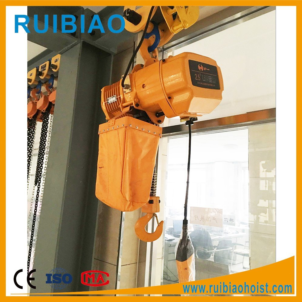 Ce Certified Electric Wire Rope Chain Electric Hoist