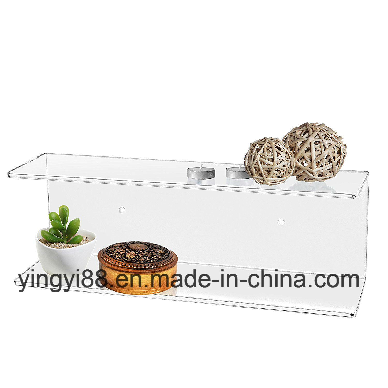 Factory Direct Sale Acrylic Shelves Display