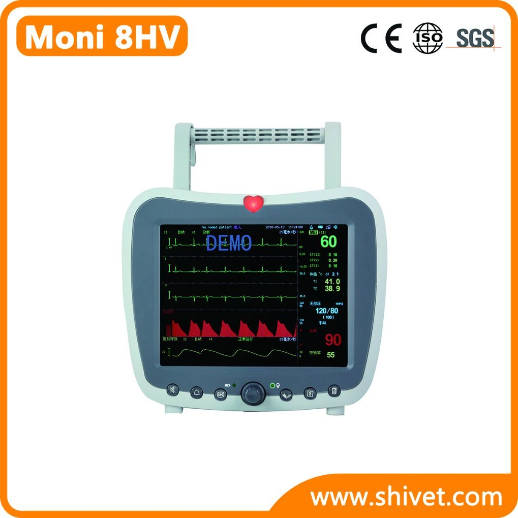 Veterinary Multi-Parameter Monitor (Moni 8HV)