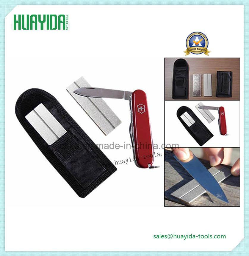 Huayidatools Hyd3004 Diamond Sharpening Pocket Stone, 1-Inch X 3-Inch X 1-4-Inch