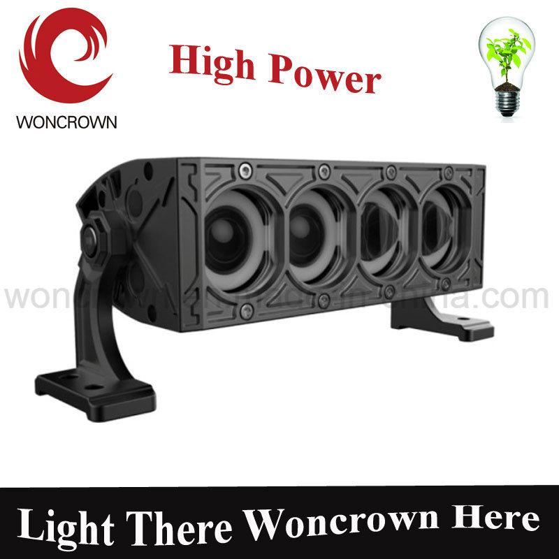 30W 4D 7inch Newest Single Row LED Strip Lights Best Offroad SUV LED Light Bar