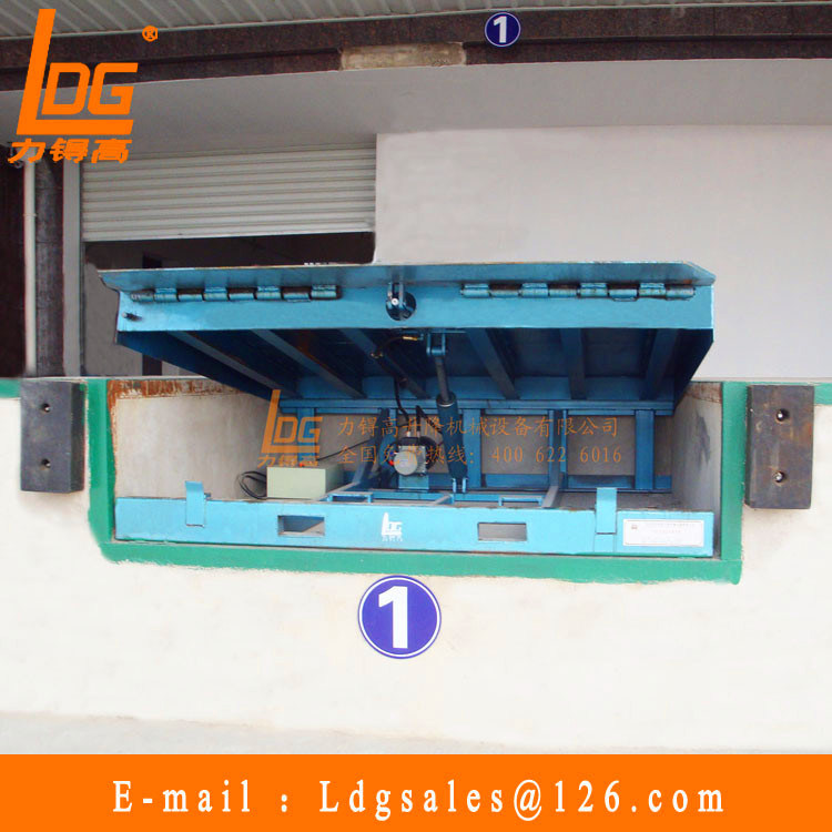 Stationary Hydraulic Scissor Dock Ramp (DCQ10-0.6)