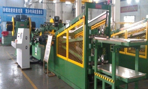 Cutting Machine Two Cutter and V-Notch Cut-to-Length Line