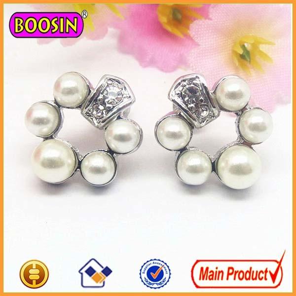 Wholesale Silver Jewelry Earring Pearls Earrings