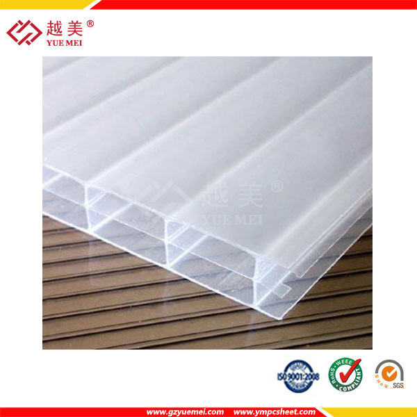Ten Years Warranty Multiwall Polycarbonate Sheets