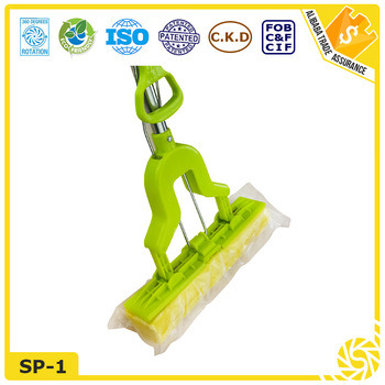 Stainless Steel Handle PVA Sponge Mop