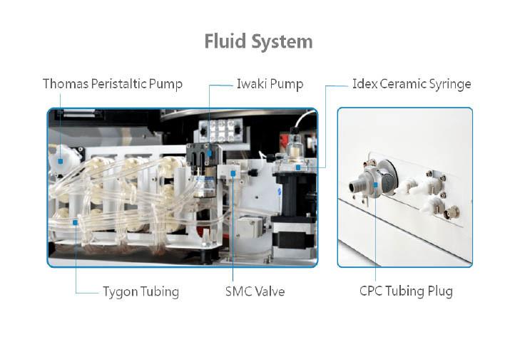 Clinic Laboratory Fully-Automatic Chemistry Biochemistry Analyzer with Touch Screen PC (poweam A8)