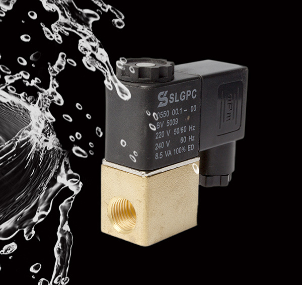 2V025-08 Solenoid Valve Normally Closed Made in China