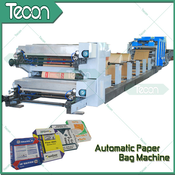 Energy Conservation Paper Bag Making Machine for Cement