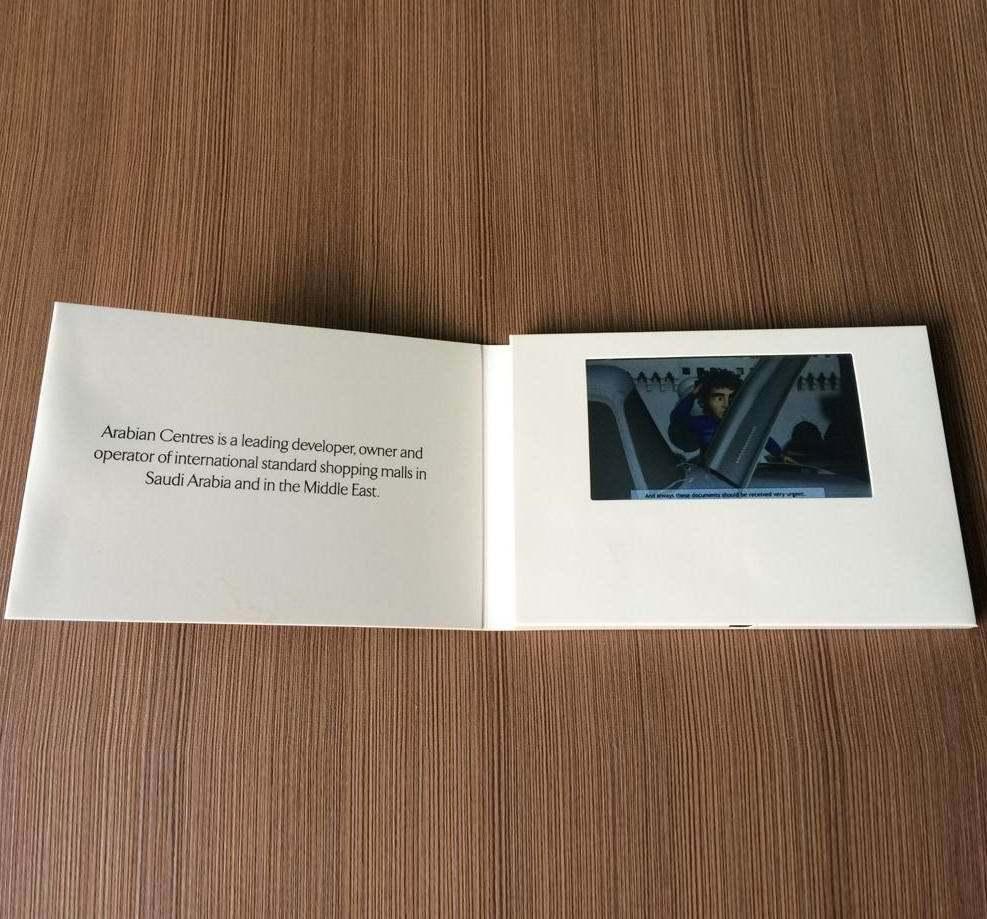 "High Quality 4.3"" LCD Screen Video Greeting Card"