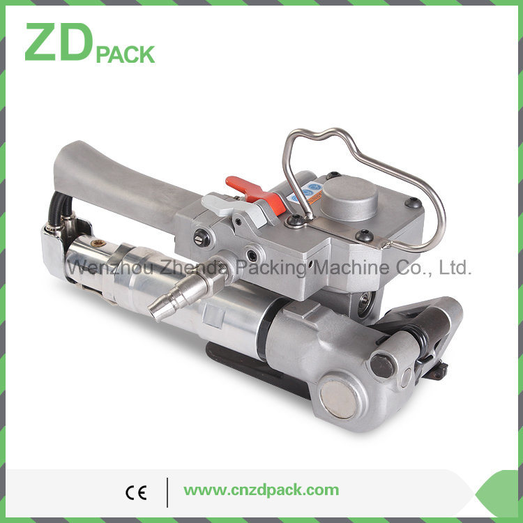 Pneumatic Strapping Tool Hand Packing Tool for PP/Pet Strap Auto Machine (AQD-19)