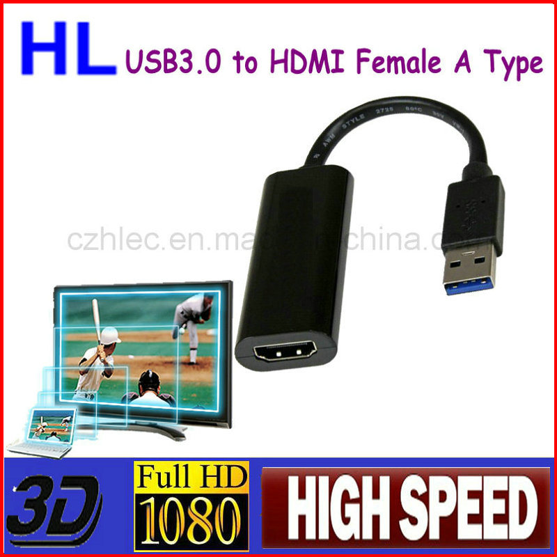Lightweight HDMI to USB 3.0 Adapter for Computer and HDTV