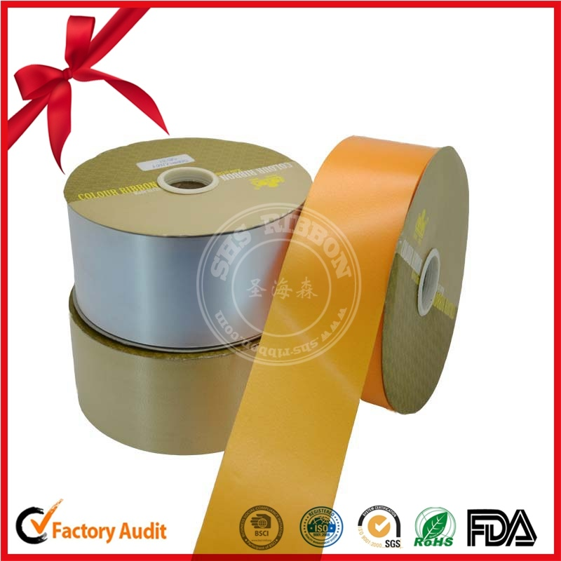 Festival Decoration Colorful Printed Ribbon Roll
