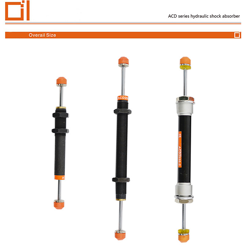 Acd 20 Series Bidirectional Buffering Types Hydraulic Shock Absorber