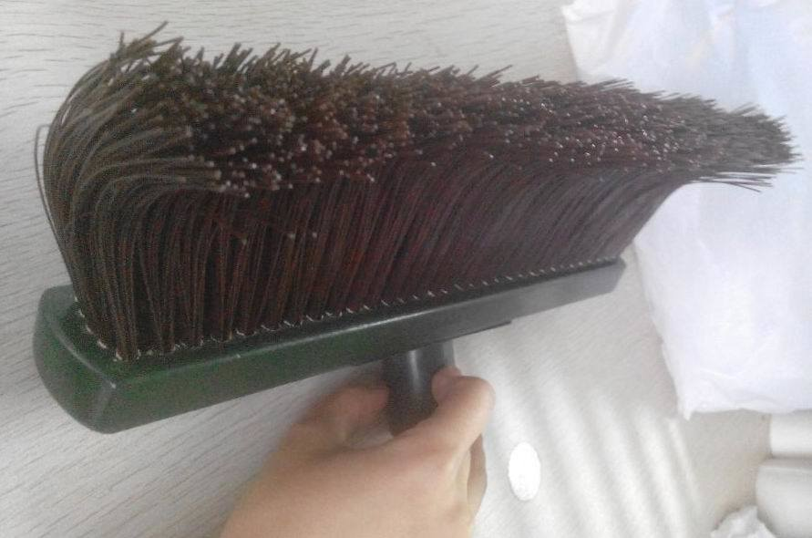 Curl Bristle Wooden Floor Broom