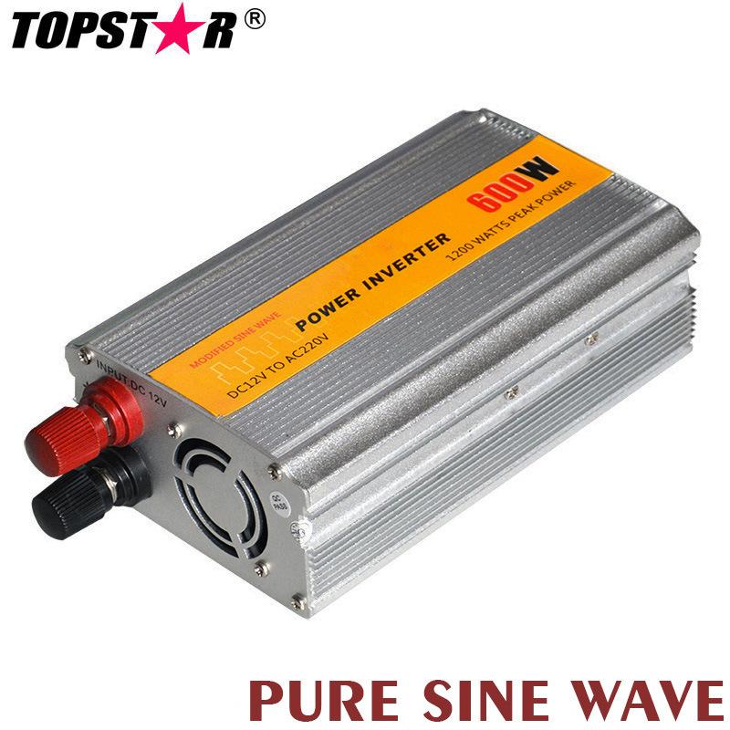 Pure Sine Wave Car Power Inverter (600W)