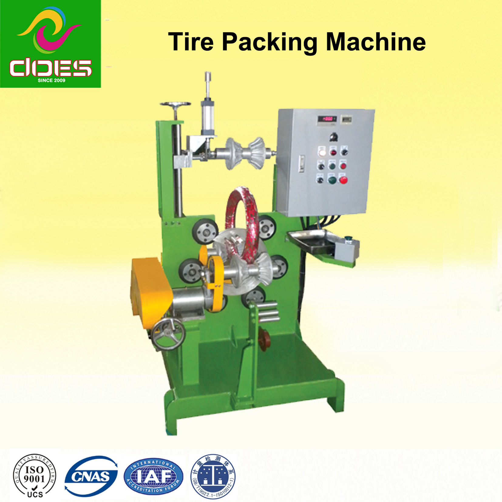 Motorcycle & E-Bike Tire Packing Machine