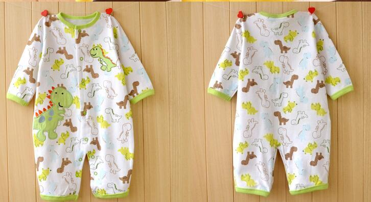 Customize Newbies Pure Soft Cotton Long Sleeve Romper Baby Clothes