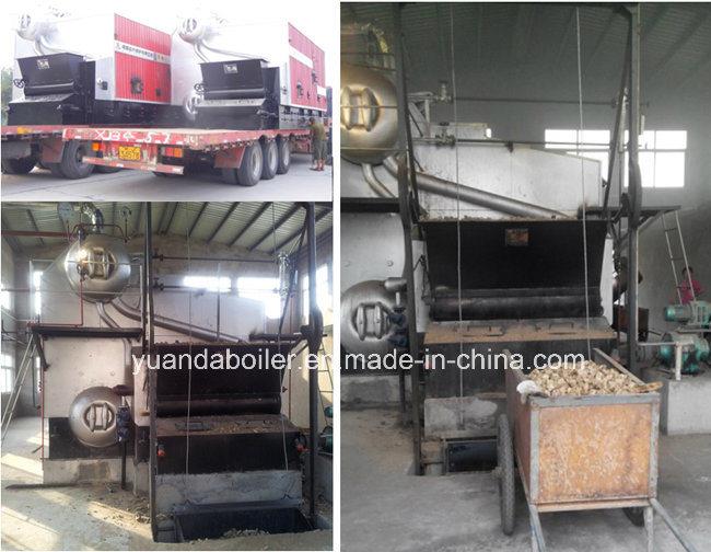 Wood Pellet, Rice Husk, Sawdust Fuel Biomass Fired Steam Boiler