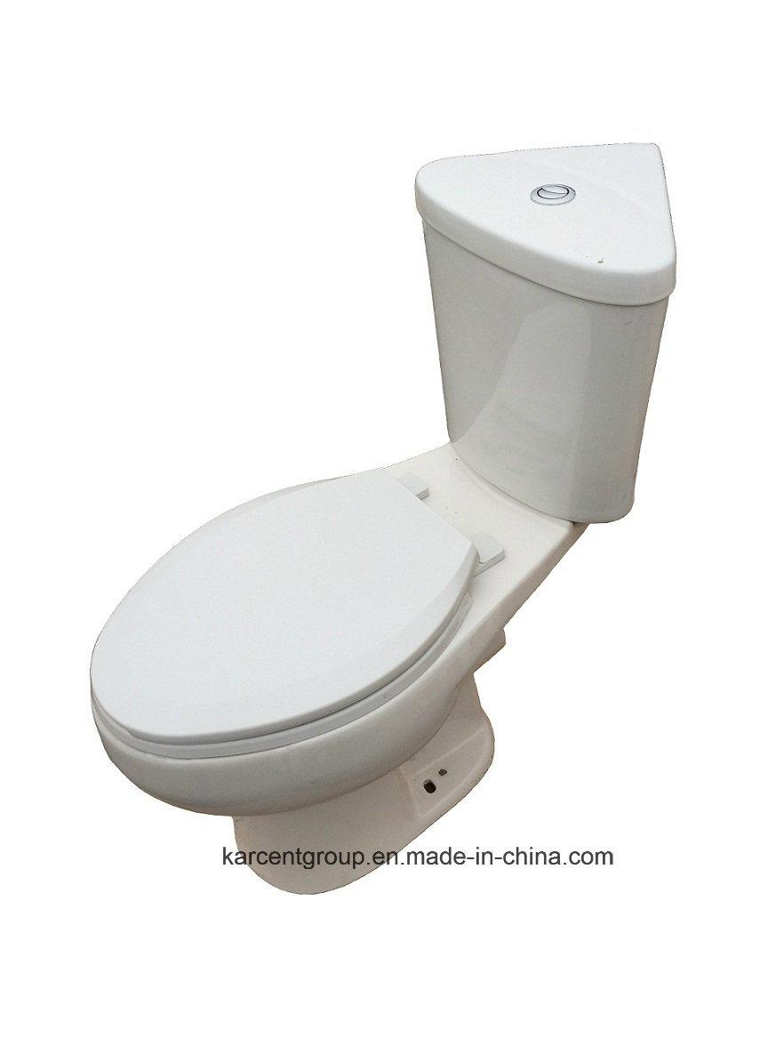 Two Piece Ceramic Toilet Ce Washdown Water Closet Wc 1011