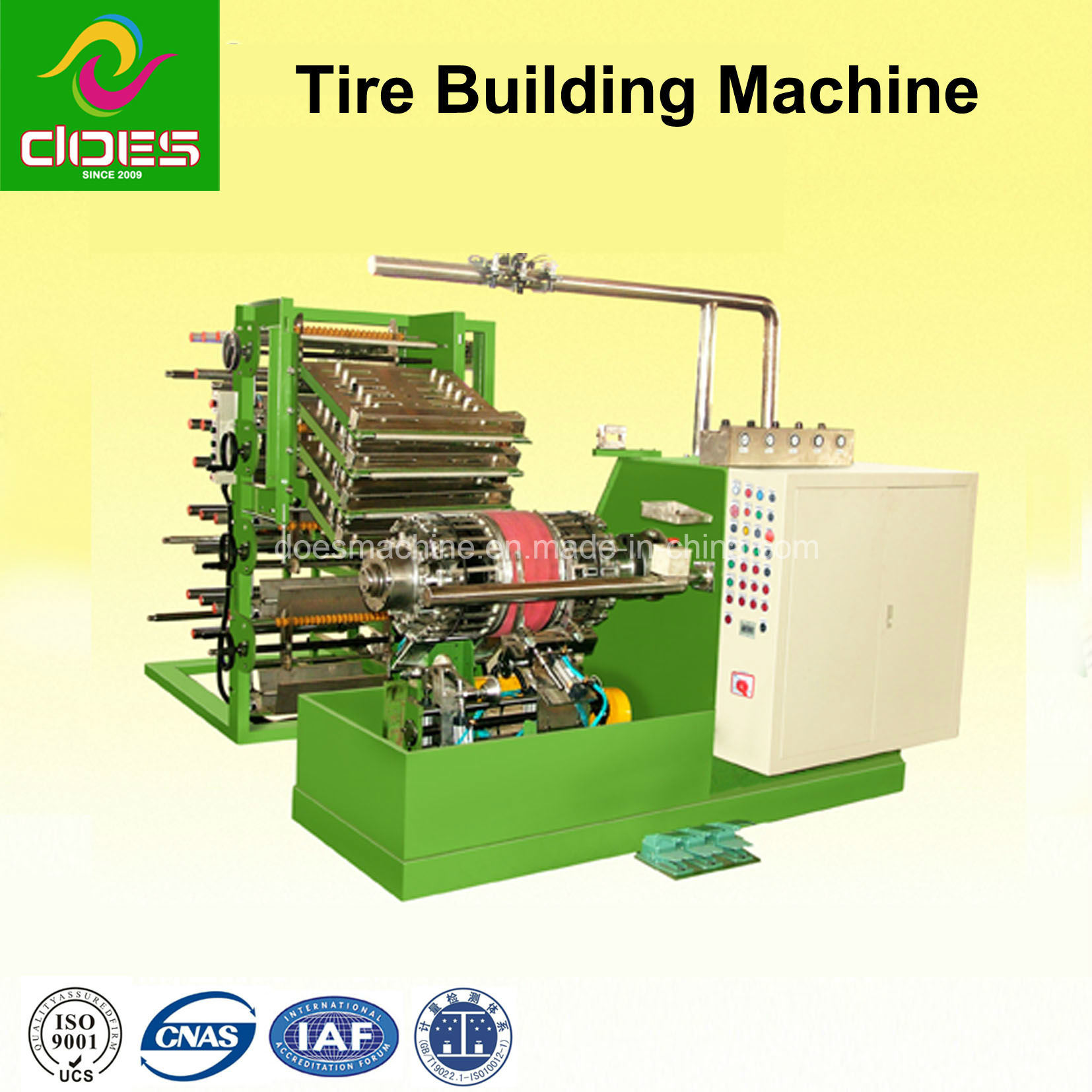 Spring Tire Building Machine for Motorcycles and Bicycles