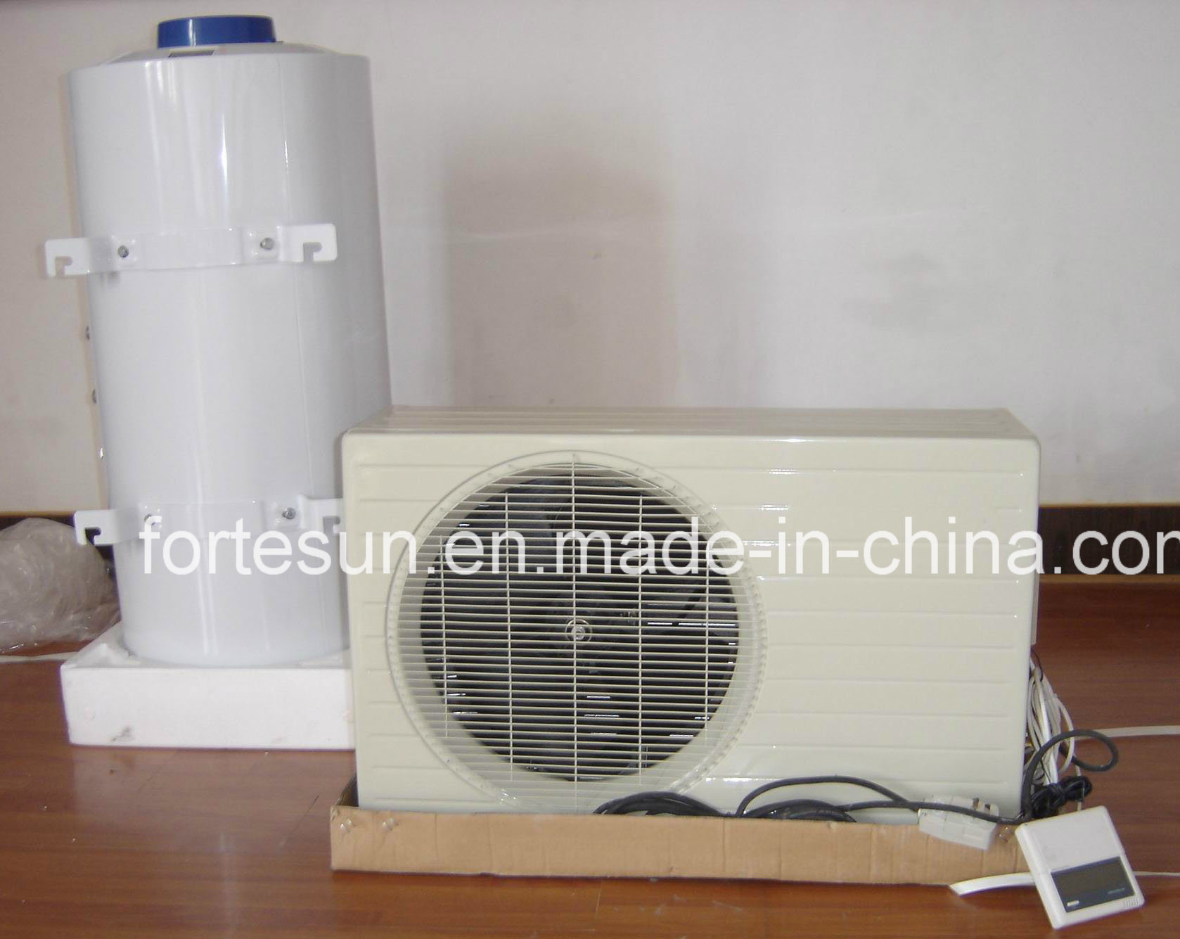 Heatpipe Solar Collector Runned Heatpump