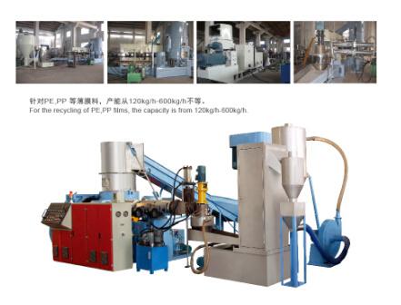 PP/PE Film Single Stage Recycling Granulating Machine