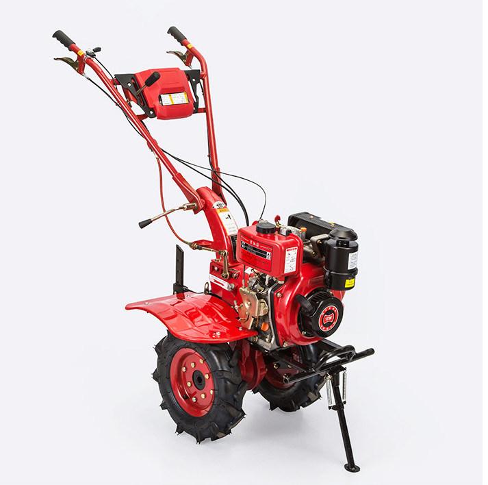 Diesel Engine Hand Cultivating Power Tiller