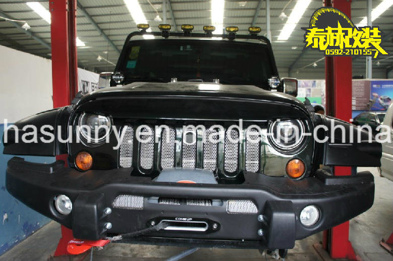 Top Sale Angry Bird Style Car Grille Black Front Grille for Jeep Wrangler
