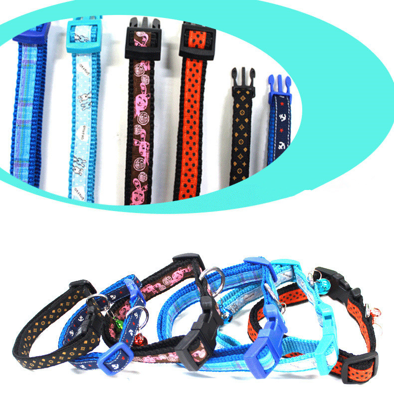 Pet Product Dog Cat Puppy Catoon Collar (C010)