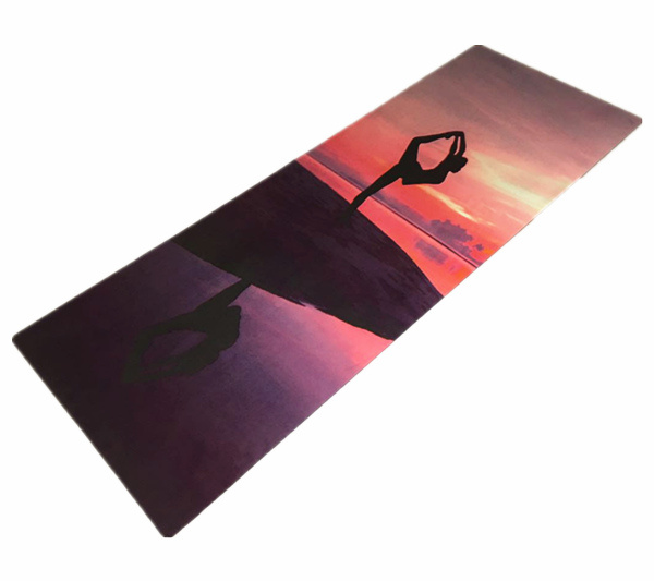 Eco Natural Rubber Foldable Portable Machine Washable Travel Yoga Mat