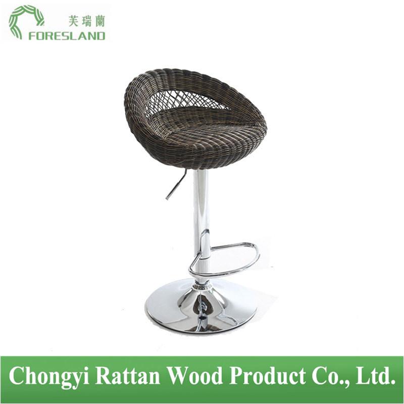 PE Rattan Bar Chair Counter Stool PS-01