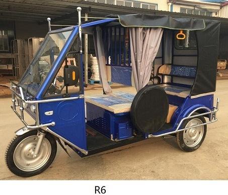 60V 1000W Three Wheeler Auto Rickshaw Tricycle