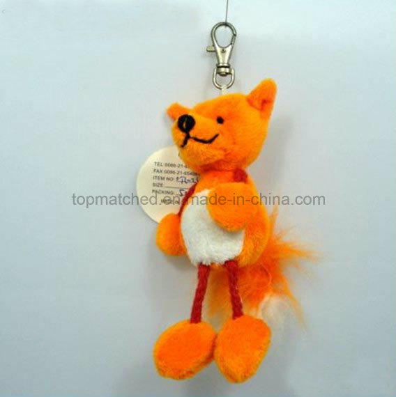 Popular Cute Cat Keychain Plush Toy for Promotion
