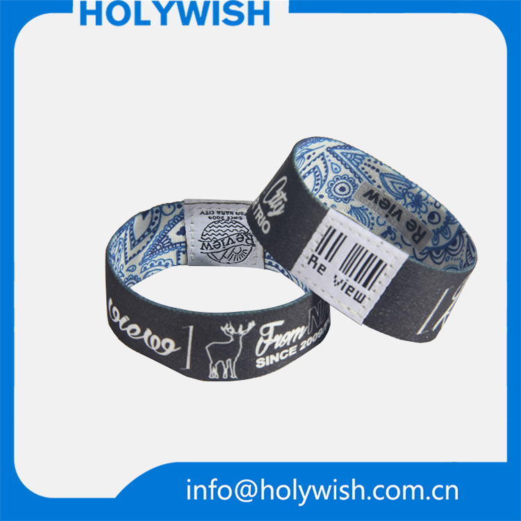 Special Design Custom Logo Athletic Elastic Wristbands