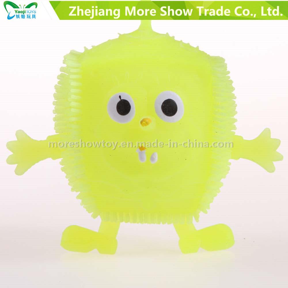 Light up Soft Plastic Spike Sponge Ball Educational Toy