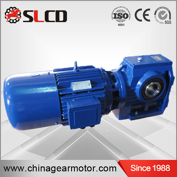 S Series High Efficiency Hollow Shaft Helical Worm Gear Reducer