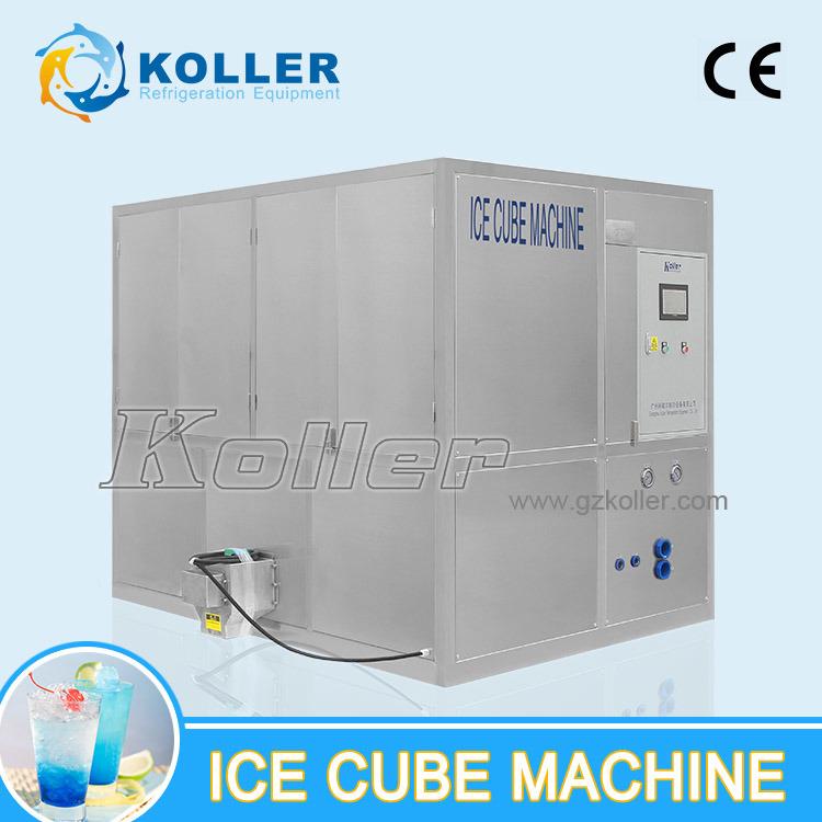 Commercial Food-Grade Cube Ice Maker 3000kg/24H