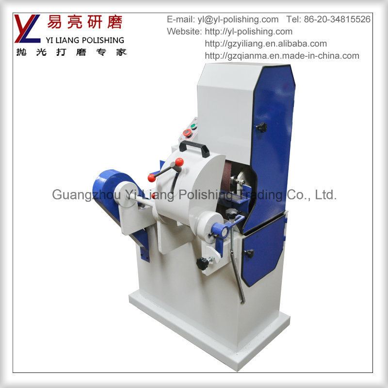 Round Tube Surface Deburring and Wire Drawing Sanding Grinding Machine