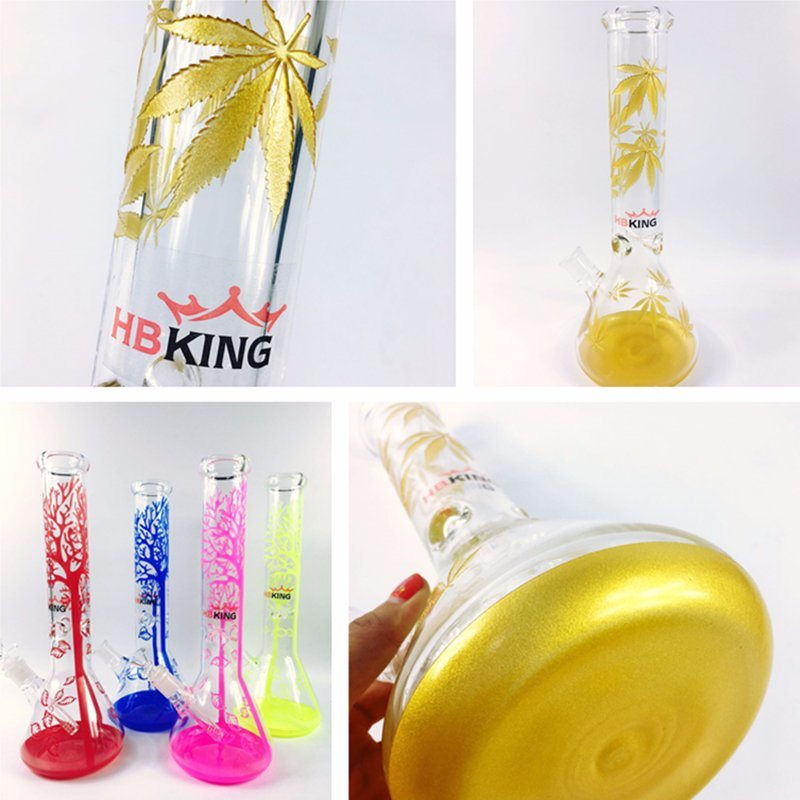 Hb King 2017 Sexy Design Recycler Cross Difusser Glass Smoking Water Pipe Ice Catcher Twist Glass Bubbler Tobacco Pipe