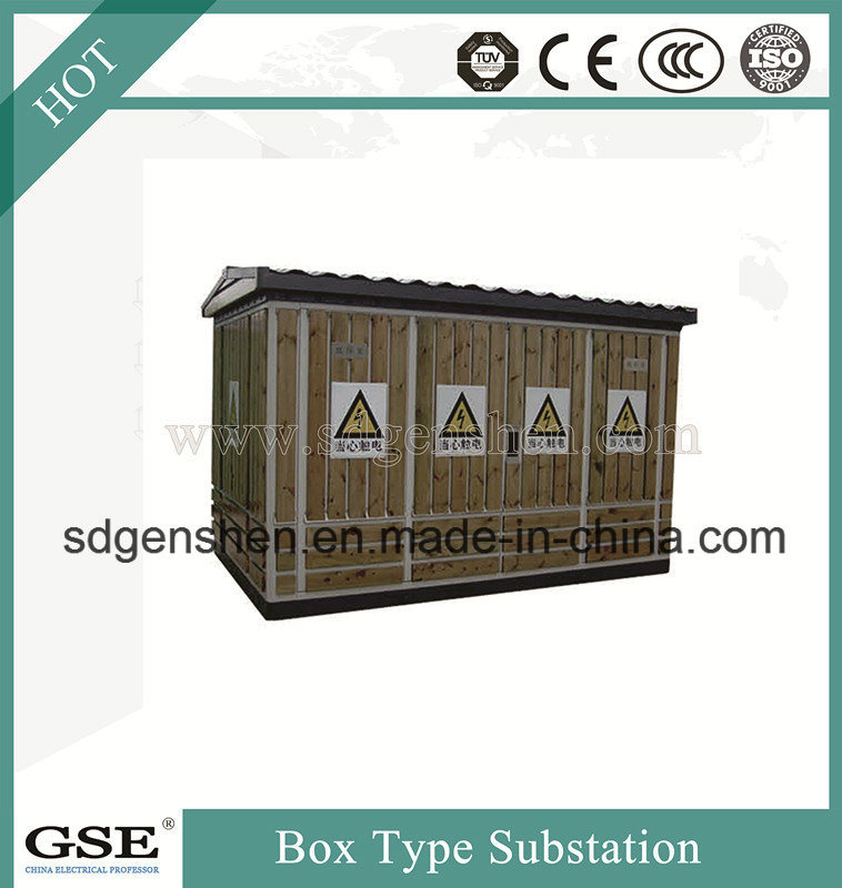Ybw-12 Three-Phase Saving-Energy Prefabricated Box Type Substation (European)