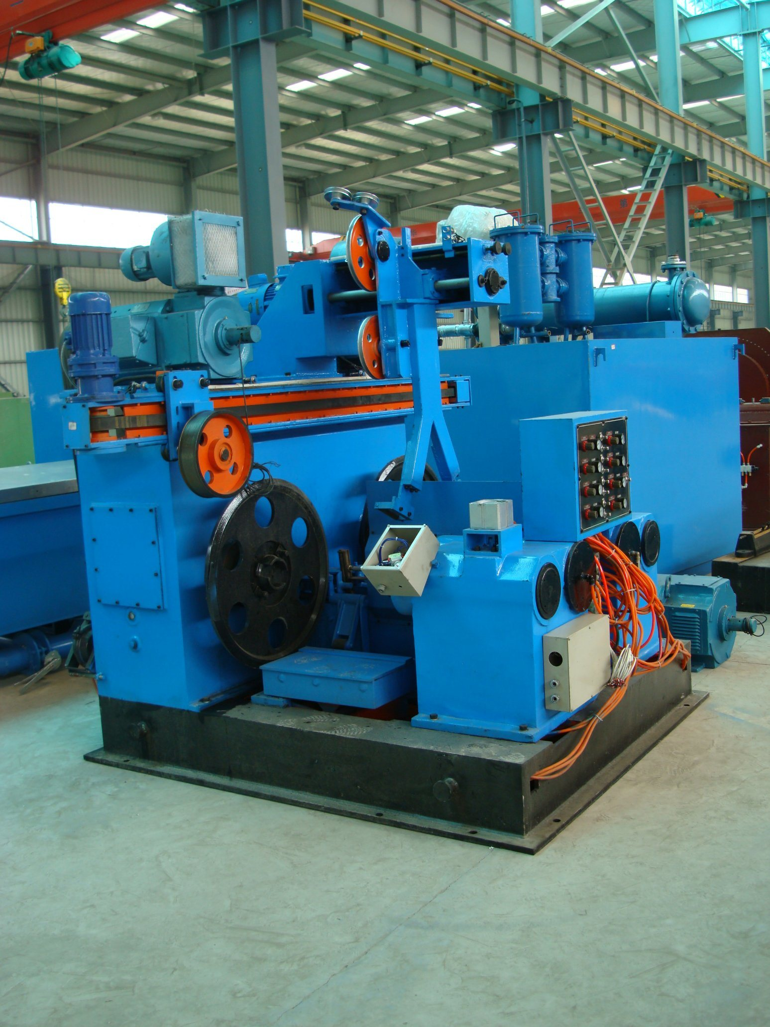LHD Copper Rod Breakdown Machine/Wire Drawing Machine